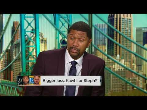 Which is a bigger loss: Kawhi Leonard or Steph Curry? | NBA Countdown | ESPN
