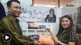 Saiful bahagia di samping isteri, kini ligat berniaga