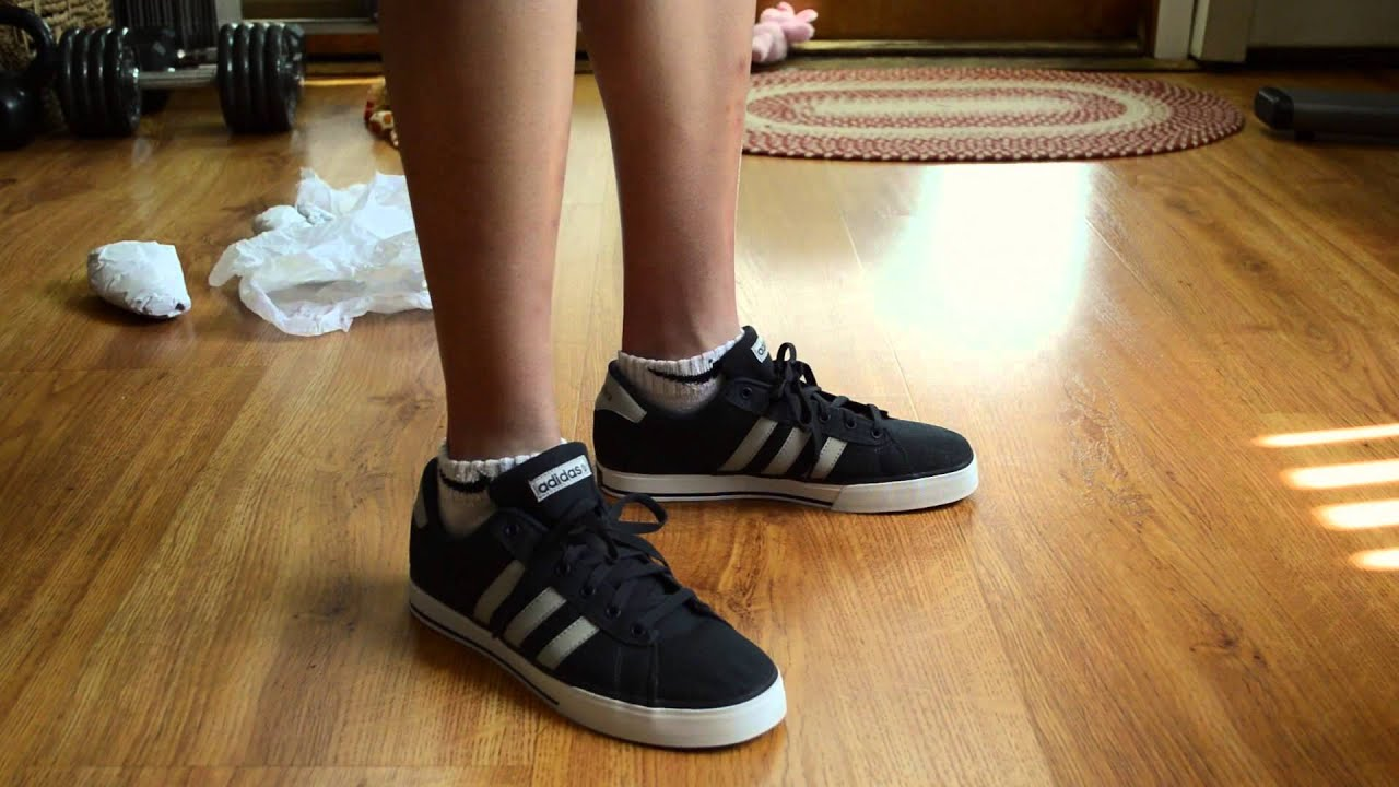 big sale 72f6e 24eea Adidas NEO Daily Shoe Unboxing and Overview