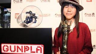 【ガンプラW杯】11歳の畑めいさんがV4で日本代表に「今年こそ世界一に!」 「ガンプラビルダーズワールドカップ2014」 ガンプラワールドカップ 検索動画 27