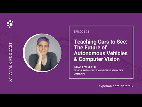 Teaching Cars to See: The Future of Autonomous Vehicles & Computer Vision w/ Uber #DataTalk