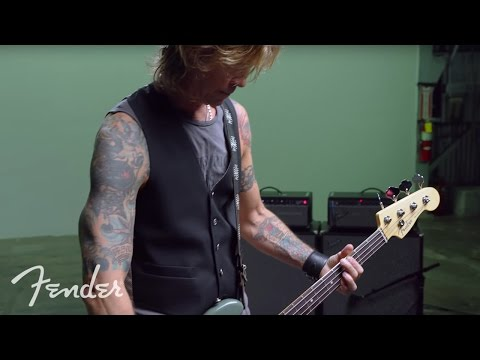 Duff McKagan & The American Professional Precision Bass   Fender