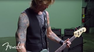 Duff McKagan & The American Professional Precision Bass | Fender