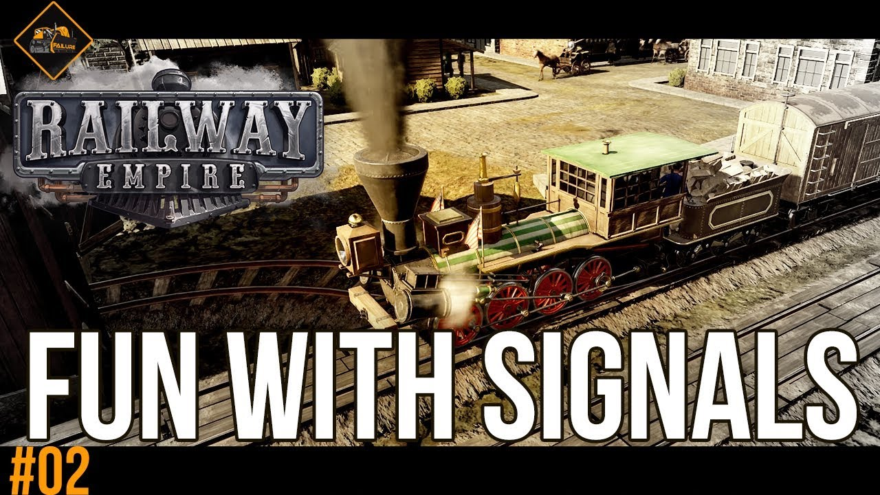 Having fun with signals in Railway Empire beta gameplay part 2
