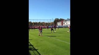 FC Bayern Training, ohne Nationalspieler 5 gegen 2
