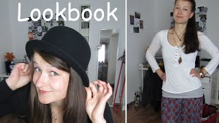 Lookbook - 7 Outfits (bisschen alternativ/ Hippie)
