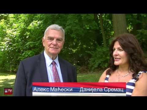 Serbian Cultural Garden Cleveland - Mileva Maric ceremony