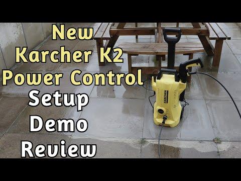 Kärcher K2 Power Control Pressure Washer Setup Review & Demonstration