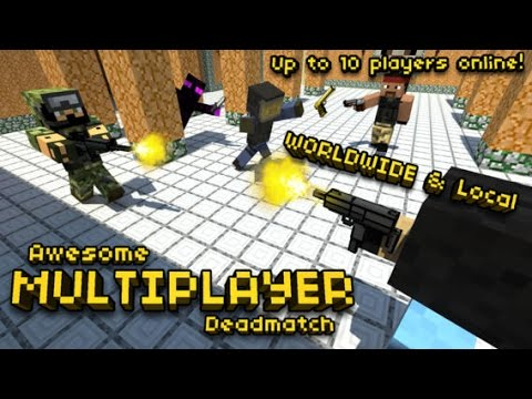 Minecraft Shooter Games - Pixel Gun 3D GamePlay Trailer