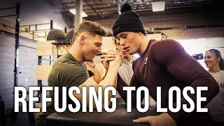 Competing Against The Gymshark Athletes | Arm Wrestle Rematch