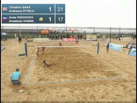 Saka-Rtvelo GEO [7] Vasina-Vozakova RUS [10] Round 2 Shanghai Grand Slam 2012 Women