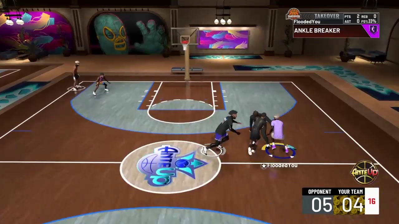 VloneDribbles Live playing 2k