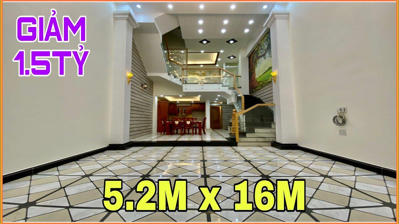 Bán nhà Gò Vấp | 329] 5.2m x 16m Giảm 1.5 tỷ nhà 4 lầu tuyệt đẹp có thiết kế chính chủ xây ở Gò Vấp