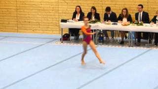 Nora Neufeld, Boden, POYC - Pre-Olympic-Youth-Cup 2016
