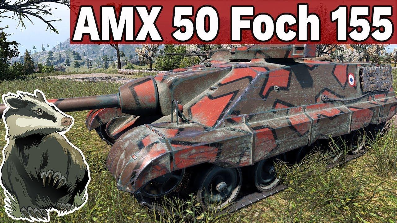 30 TEDEKÓW NA RANDOMIE! – FOCH 155 – World of Tanks