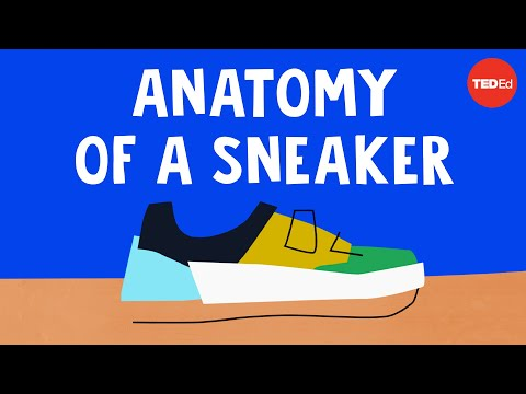 Video image: The wildly complex anatomy of a sneaker - Angel Chang