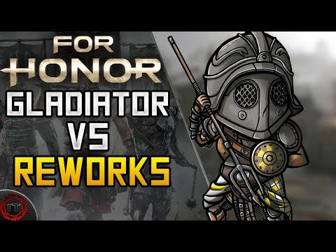 For Honor Gladiator VS The Reworked Heroes | Intense Fights | Age of Wolves