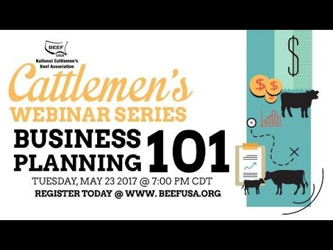 Cattlemen's Webinar Series: Business Planning 101