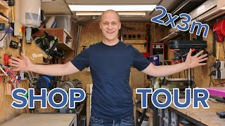 My Small And Efficient Workshop  2 X 3 Meter  - 2019 Shop Tour