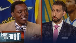 Draymond is the key to the Warriors success without KD - Isiah Thomas | NBA | FIRST THINGS FIRST