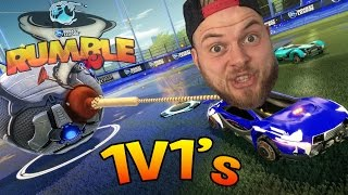 One of SquiddyPlays's most viewed videos: SquiddyPlays - ROCKET LEAGUE RUMBLE! - 1v1 W/Speedy - #2