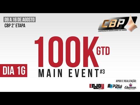 CBP - 100K GTDs - Dia 1G - Enjoy Sport - Brasilia
