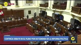 Congresistas Jorge Castro y Luis Iberico tuvieron una fuerte discusión durante el Pleno 1/2