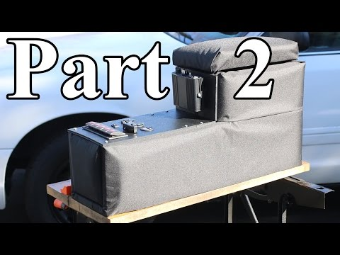 How to Build a Center Console for your Car (Part 2)
