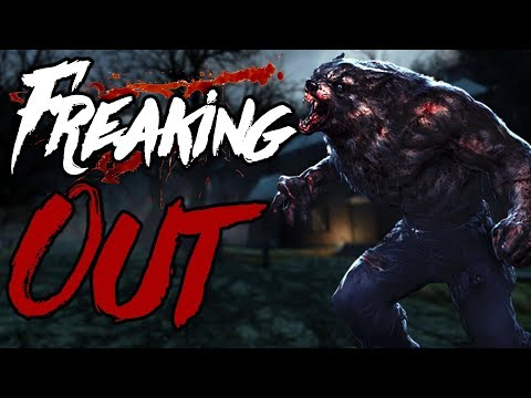 THIS GAME HAS A WEREWOLF AND ITS SCARY | Witch Hunt 2
