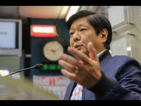 Ikaw Na Ba: Panayam kay Bongbong Marcos (Unang Bahagi)