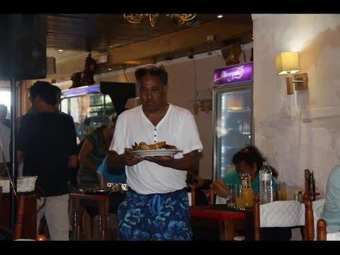 Vakantie Sept. 2015 ( Henri V. ) Restaurant Di Angelo Malgrat