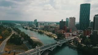 Calgary, Canada - DJI Mavic Pro - Aerial city view
