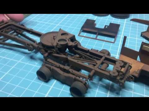 Thunder Models 1/35 Scammell Pioneer Triple Build