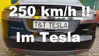 250 km/h im Tesla Model S P85D. Test. Ist das Performance Model S sein Geld Wert ?