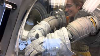 NASA spacesuit gloves and tools - it