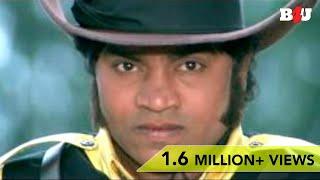 Johnny Lever As A cowboy | Funny Scene | Keemat | Akshay Kumar, Saif Ali Khan