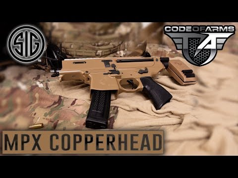 Is this the MOST Compact SUB GUN? - The SIG MPX Copperhead