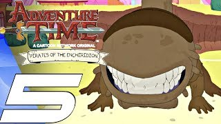 Adventure Time Pirates of the Enchiridion - Gameplay Walkthrough Part 5 - Momma Varmint Boss Fight