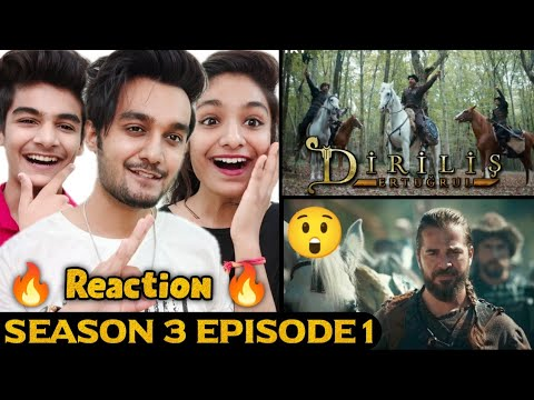 Download Ertugrul Ghazi Urdu Season 3 Episode 1 Reaction   Ertugrul Reaction   Diriliş Ertuğrul Season 3