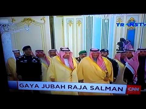 wow! Ternyata baju jubah raja arab saudi raja salman adalah baju khusus yang di buat di mesir