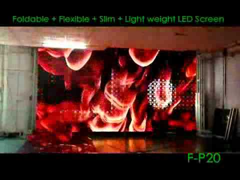 P20 Flexible LED Curtain Screen for Stage and DJ E-mail:flexible.led.display.screen@gmail.com