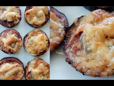 aubergine-au-four-façon-pizza-(recette-facile)🍆🍕-/-baked-eggplant-pizza-style-(easy-recipe)-🍆🍕