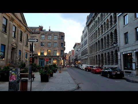 Walking Tour At The Old Port Of Old.Montreal #samsungnote10plus