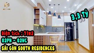 Bán căn hộ sài gòn south residences 71m2 Full nội thất 3,3 tỷ