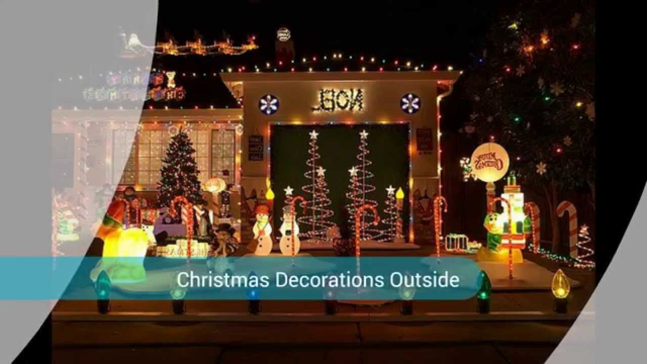 Animated christmas decorations youtube for Animation decoration noel