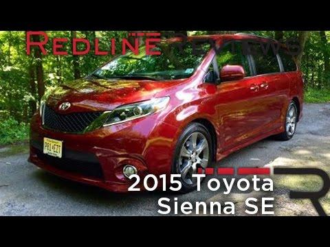2015 Toyota Sienna SE – Redline: Review