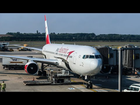 HOW IS AUSTRIAN AIRLINES? | Boeing 767-300ER | New York JFK - Vienna | Economy Class