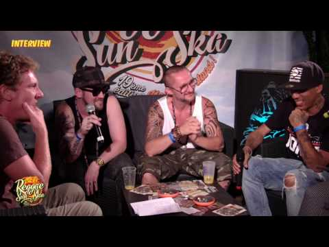 Interview de Dj Vadim, Big Red - Reggae Sun Ska 2016