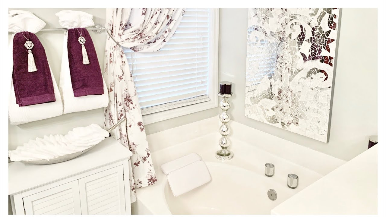 Fall Master Bathroom Decorating Ideas Tour Youtube