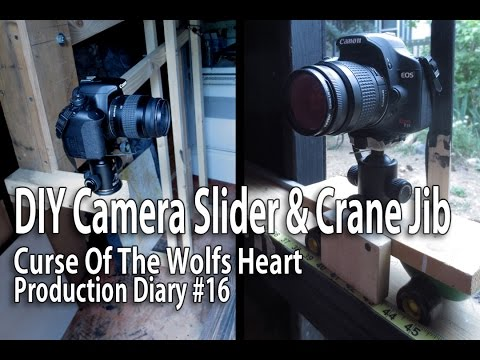 (DIY) Camera Slider and Crane for Stop Motion Animation